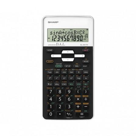 Calculatrice Scientifique Sharp Blanc (EL-531TH-WH)
