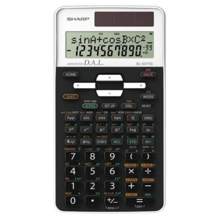 Calculatrice Scientifique Sharp Blanc (EL-531TG-WH)