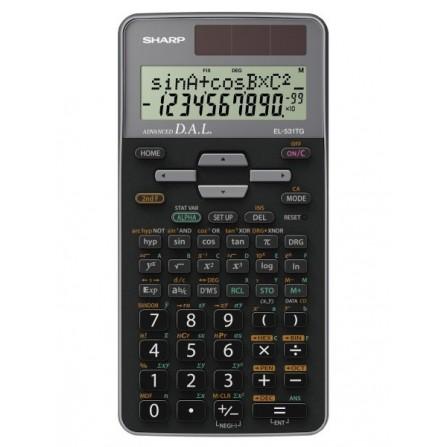 Calculatrice Scientifique Sharp Gris (EL-531TG-GY)