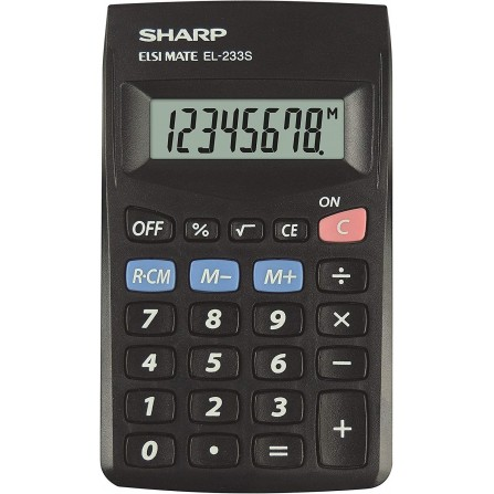 Calculatrice Sharp EL-233SB-BK (EL-233SB-BK)