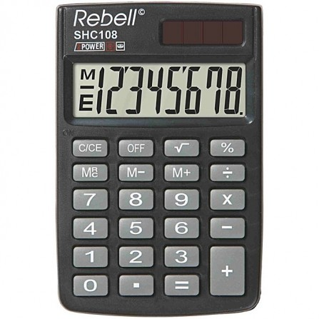 Calculatrice REBELL SHC108 BX (SHC108 BX)