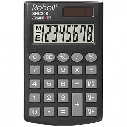Calculatrice Rebell SHC208 BX(SHC208 BX)