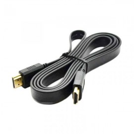 Câble HDMI Plat 1,5M  Noir (HDMI-PLAT-1.5M)