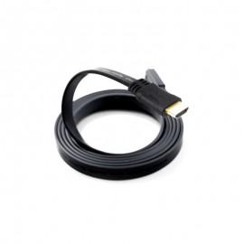 Câble HDMI Plat 10M Noir (HDMI-PLAT-10M)