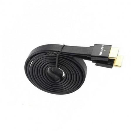 Câble HDMI Plat 3M Noir (HDMI-PLAT-3M)