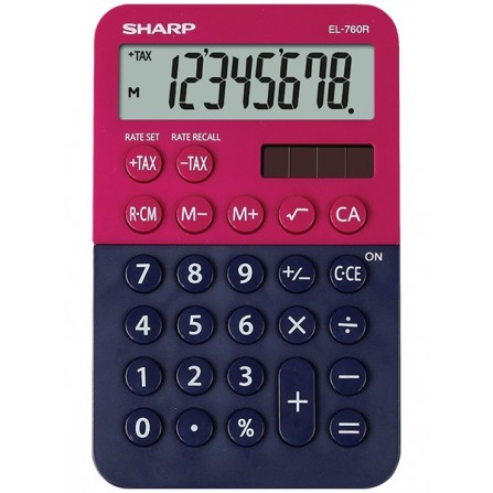 Calculatrice Sharp EL-760RB ( EL-760RB- RB)