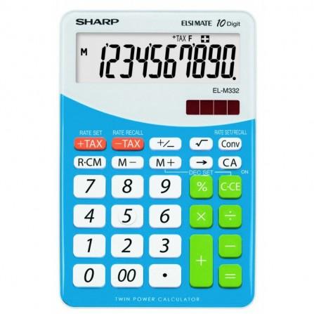 Calculatrice Sharp EL-M332BBL-(EL-M332B-BL)