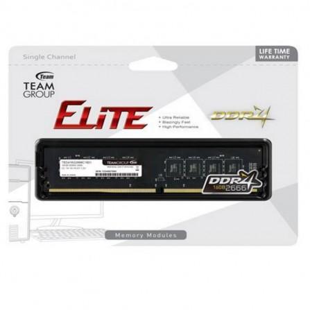 Barrette Mémoire TEAM GROUP Elite 16Go DDR4 Pour PC De Bureau (TED416G2666C1901)