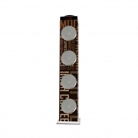 Haut-Parleur BEST SOUND 102 60W Bluetooth - Coffee(HP-102)