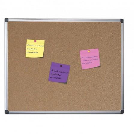 Tableau en liège BI-OFFICE  90X120 CM (31170)