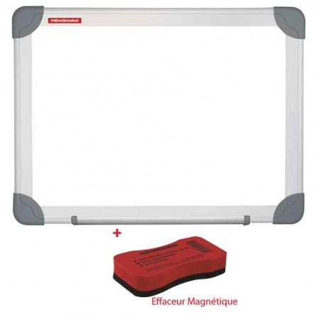 Tableau Blanc Magnétique MEMOBOARDS 100X80 Blanc (TM108ALF)