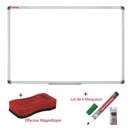 Tableau  Magnétique MEMOBOARDS 180 x 100 Blanc (TM1810ALM)