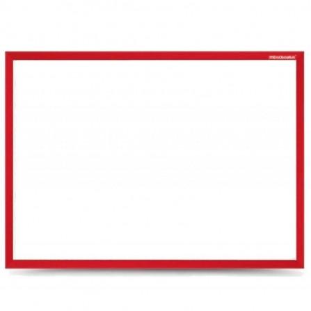 Tableau Blanc Magnétique MEMOBOARDS 30 x 40 cm Rouge (TM34LMIXR)
