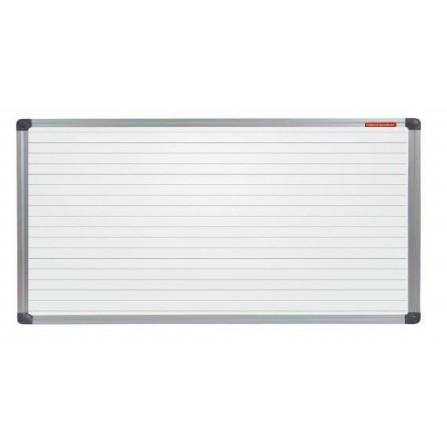 Tableau Blanc magnétique avec des lignes 180x100 (TML1810ALC)