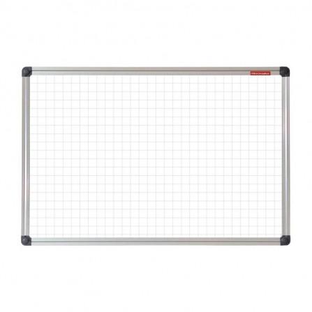 Tableau Blanc magnétique à carreaux 120x90 (TMK129ALC)
