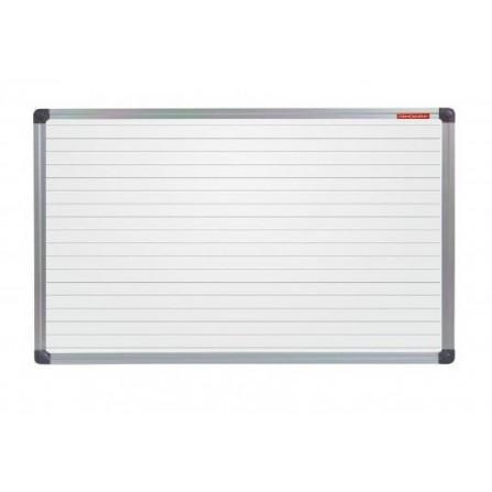 Tableau Blanc MEMOBOARDS magnétique avec des lignes 150 X 100 (TML1510ALC)