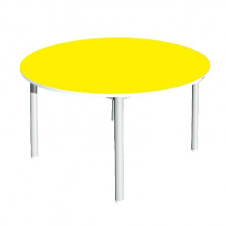 Table Maternelle Ronde-Bleu (SOT-MA14)