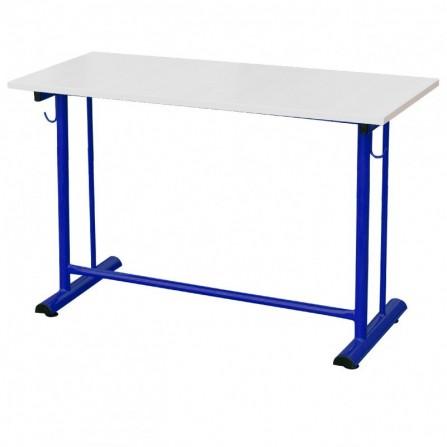 Table écolier biplace à dégagement latéral (SOT-TE03)
