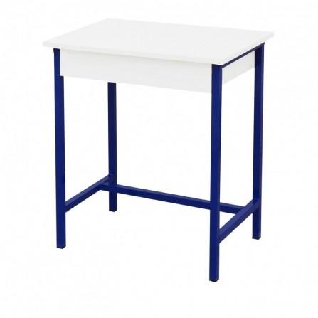 Table écolier monoplace /Étagère en bois (SOT-TE10)