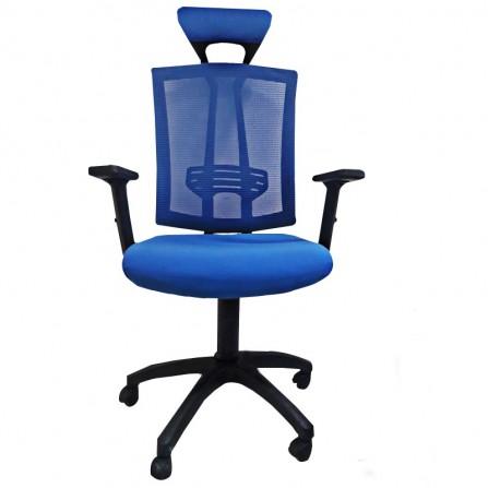 Chaise de Bureau Vienne Bleu (CD-Vienne-B)