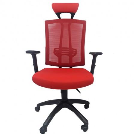 Chaise de Bureau Vienne Rouge (CD-Vienne-R)