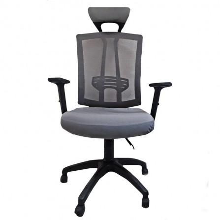 Chaise de Bureau Vienne Gris (CD-Vienne-G)