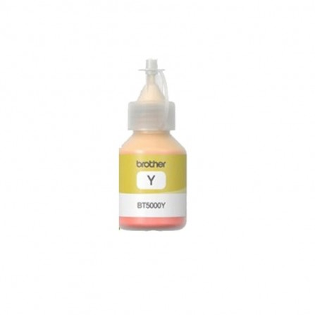 Bouteille D'encre Brother Adaptable BT-5000 Yellow 100ML