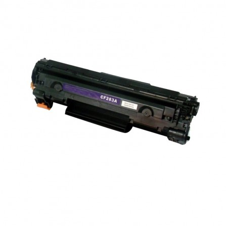 Toner Laser Adaptable HP 83A Noir (CF283)