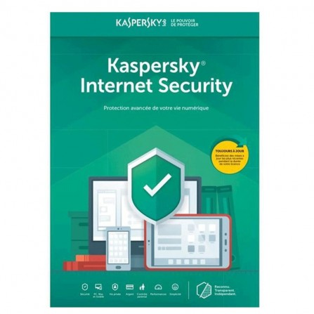 Internet Security KASPERSKY 2020 10Postes / 1an (KL1939FBKFS-20MAG)