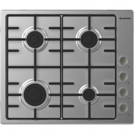 Plaque de cuisson Hoover 4 Feux 60 cm - Inox (HHW6LMX)