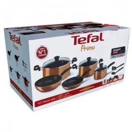Set de 10 pièces Tefal prima - Orange (B168A474)