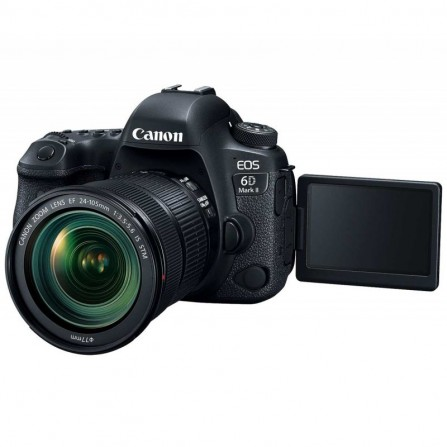 Appareil Photo Reflex CANON EOS 6D MARK II Noir (CANON-EOS-6D-MII)