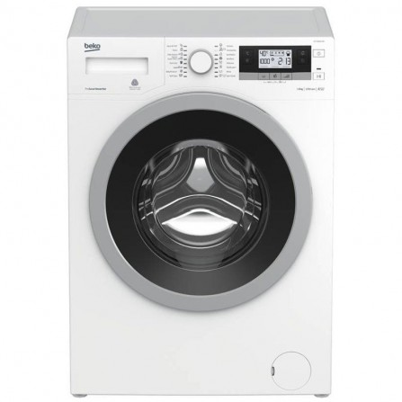 Machine à laver frontale Beko 8Kg - Blanc (WTV8634XG)
