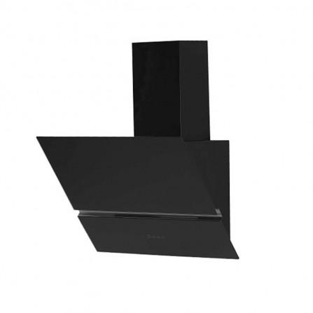 Hotte cheminée vitrée touch Orient 60cm - Noir (OH-BLACK-GLASS-5001-60BL)