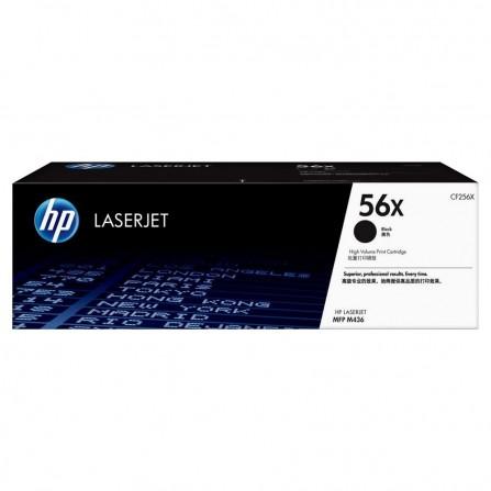 Toner Original HP LaserJet CF256X Pour HP 56X - Noir