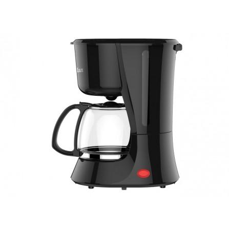 Cafetière électrique Zilan 800 Watt 1,25L - Noir (ZLN3208)