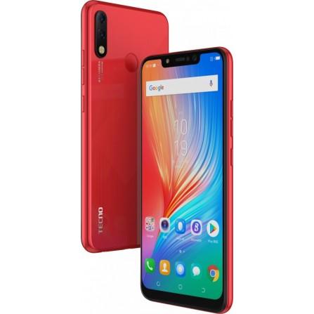 Smartphone TECNO Spark 3 Pro -Rouge (TECNO-KB8-RED)
