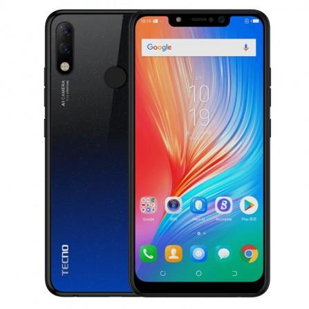 Smartphone TECNO Spark 3 Pro -Noir&Bleu (TECNO-KB8-NB)