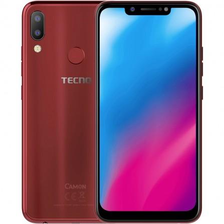 Téléphone Portable Tecno Camon 11-Rouge Bordeaux (CAMON11-RED)