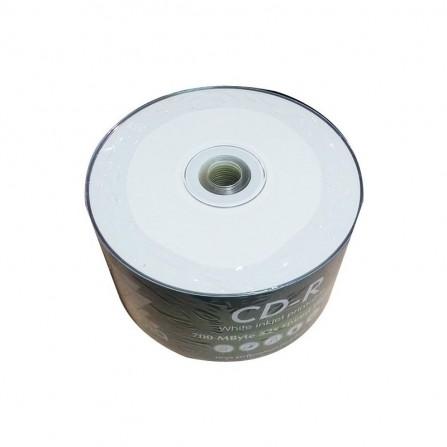Bobine 50 CD-R 700MB 52X Imprimable / Blanc (CD-R-IMP)