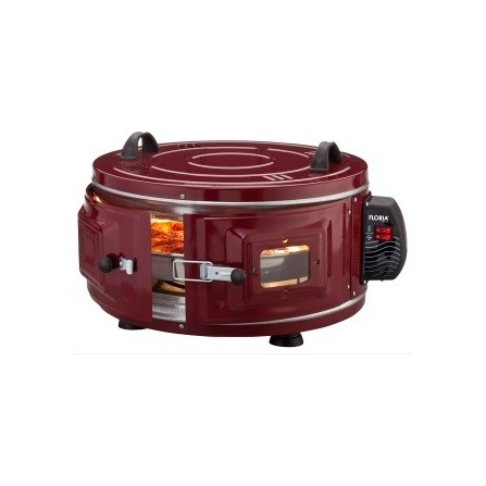 Four rond Floria 1100 Watt 40L - Rouge (ZLN2911)