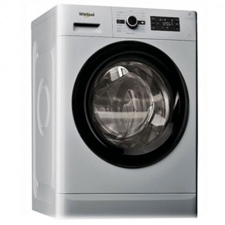 Machine à laver frontale Whirlpool 8kg - Silver (FWG81284SBS NA)