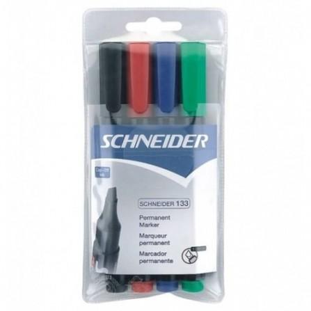 POCH/4  Marqueurs Schneider permanents Maxx 133
