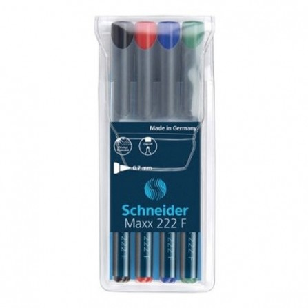 POCH/4 Feutre SCHNEIDER permanent-OHP224