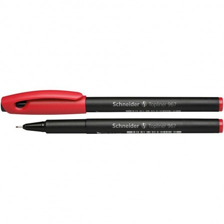 Stylo feutre SCHNEIDER -Top Liner 967 - 0,4 mm - Rouge