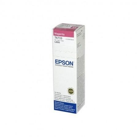 Bouteille D'encre Original EPSON T6732 70 ml - Cyan