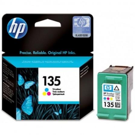 Cartouche jet d'encre HP original C8766HE pour HP 135 - 3 couleurs