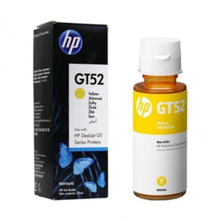 Bouteille D'encre HP Original M0H56AE pour HP GT52 - Jaune
