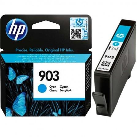 Cartouche jet d'encre HP original T6L87AE pour HP 903  - Cyan
