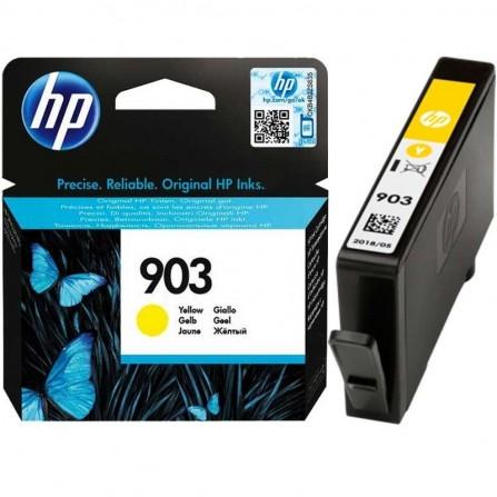 Cartouche jet d'encre HP original T6L95AE pour HP 903  - Jaune
